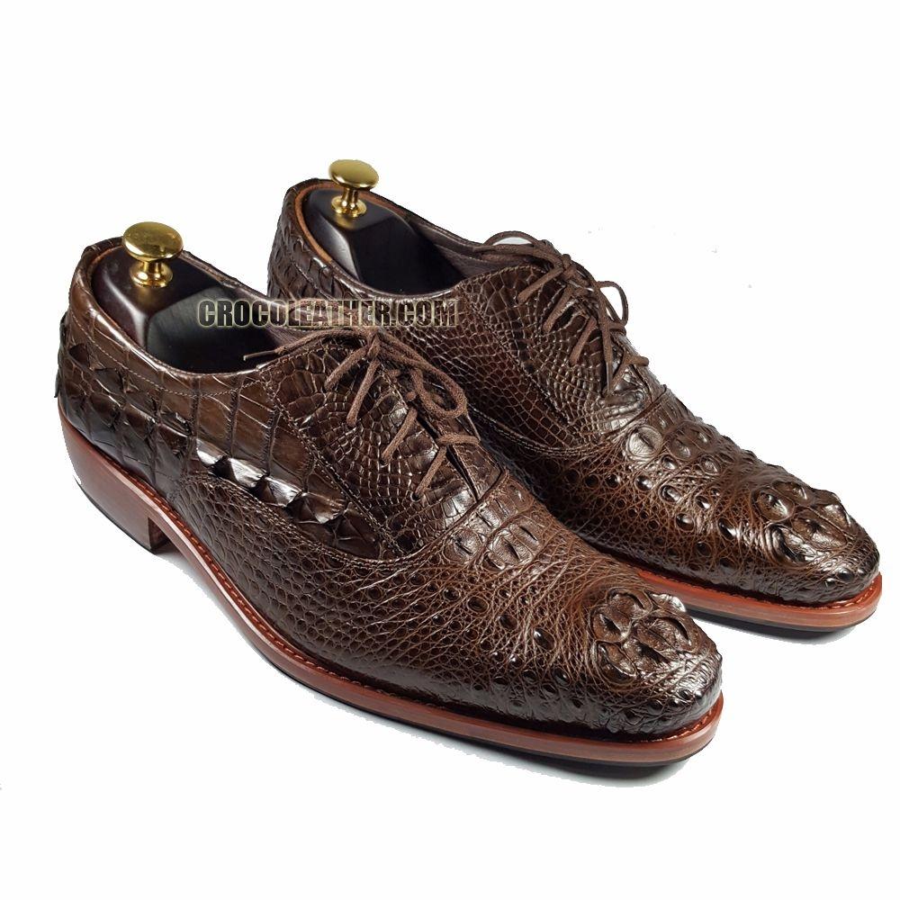 Giày da cá sấu GCS26