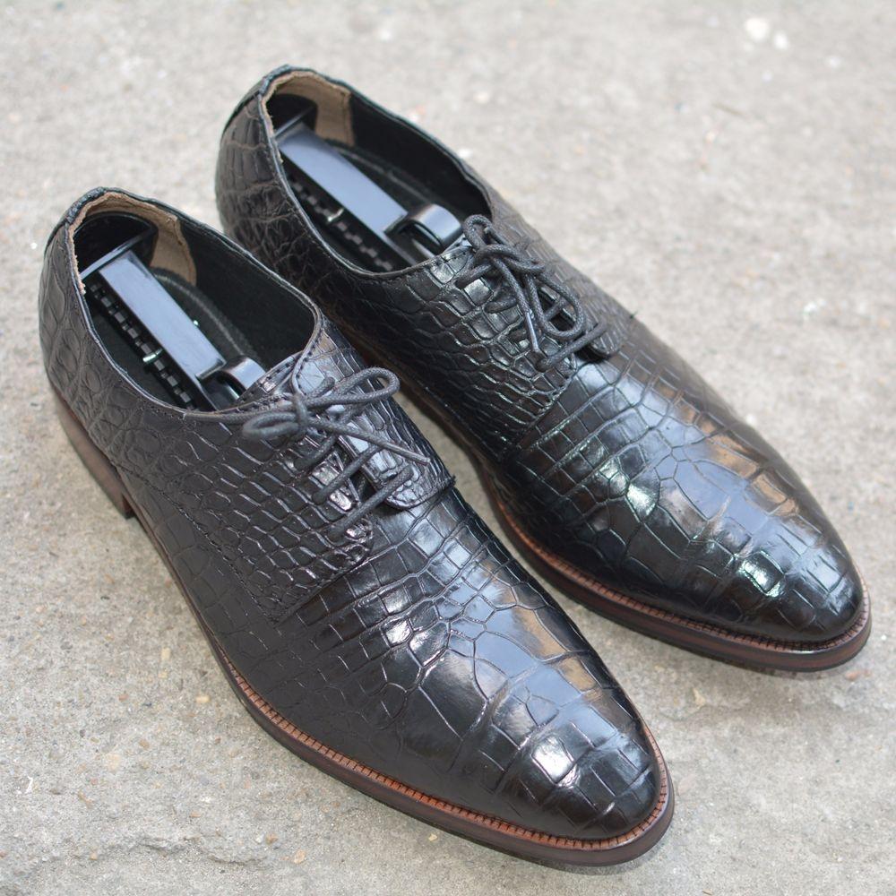 Giày da cá sấu GCS36