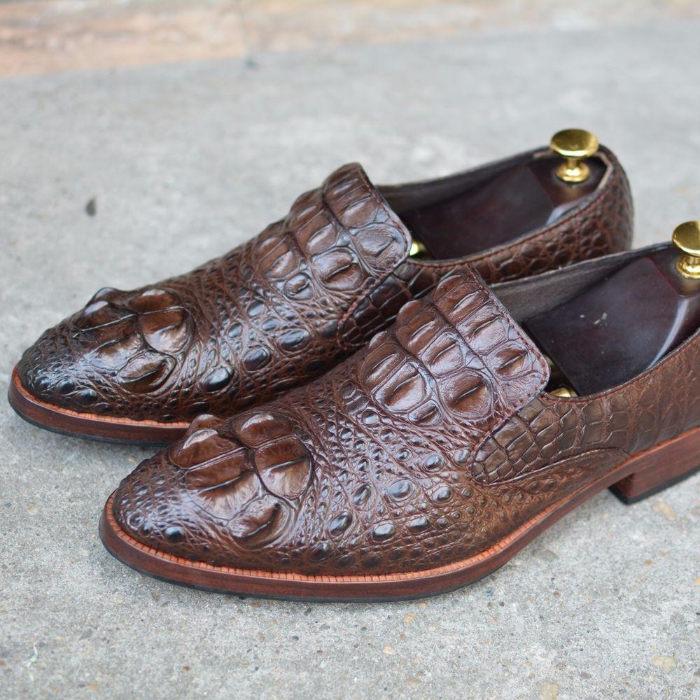 Giày da cá sấu GCS35
