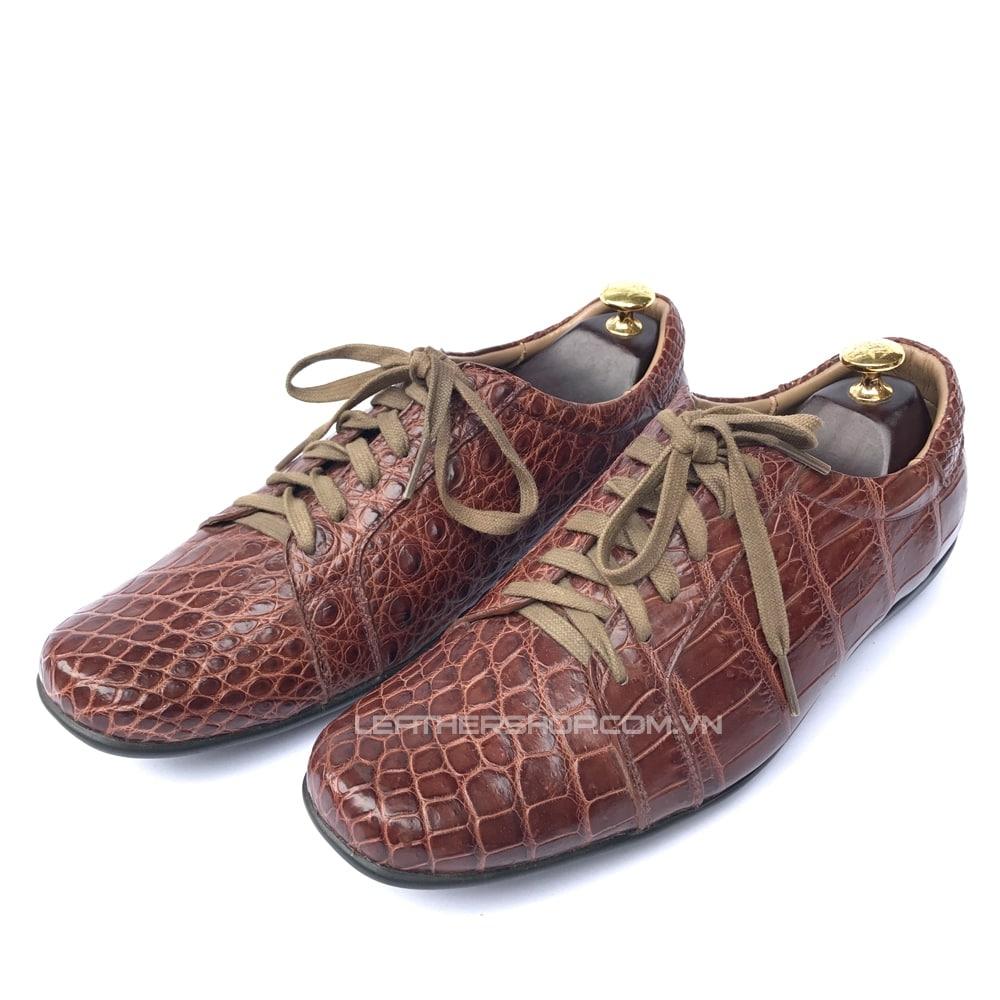 Giày nam da cá sấu GCS44
