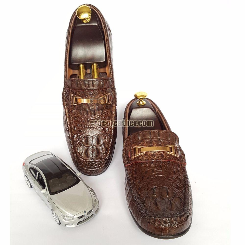 Giày da cá sấu GCS21