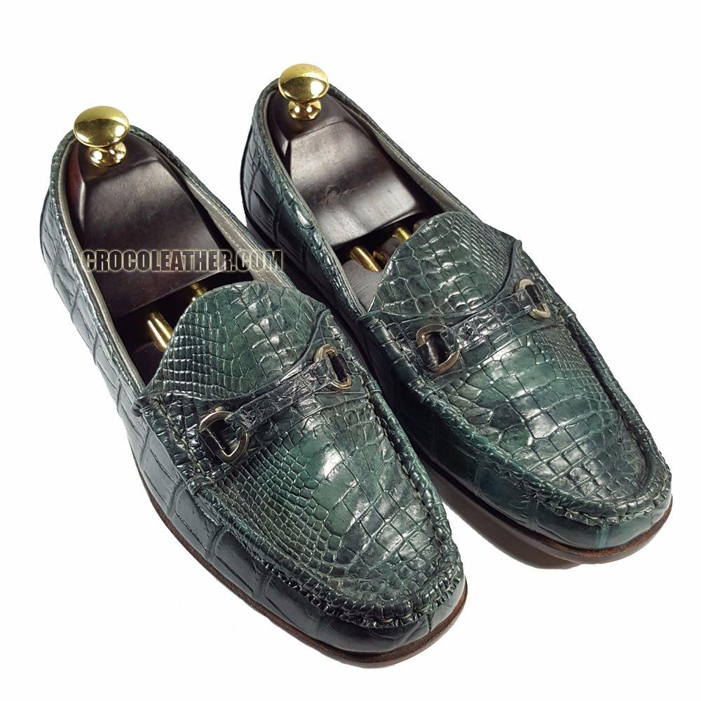 Giày da Cá Sấu GCS28
