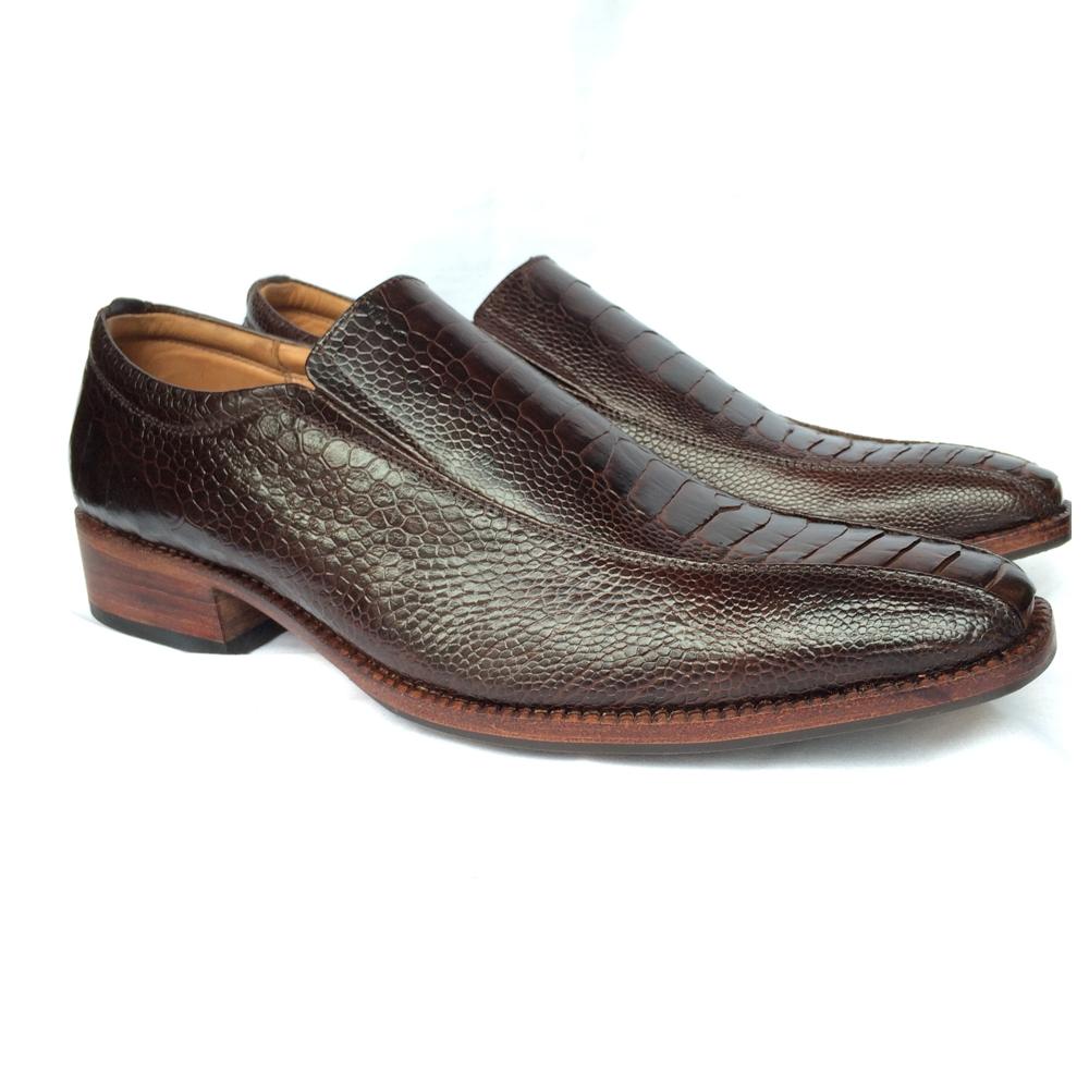 Giày da Đà Điểu GD08