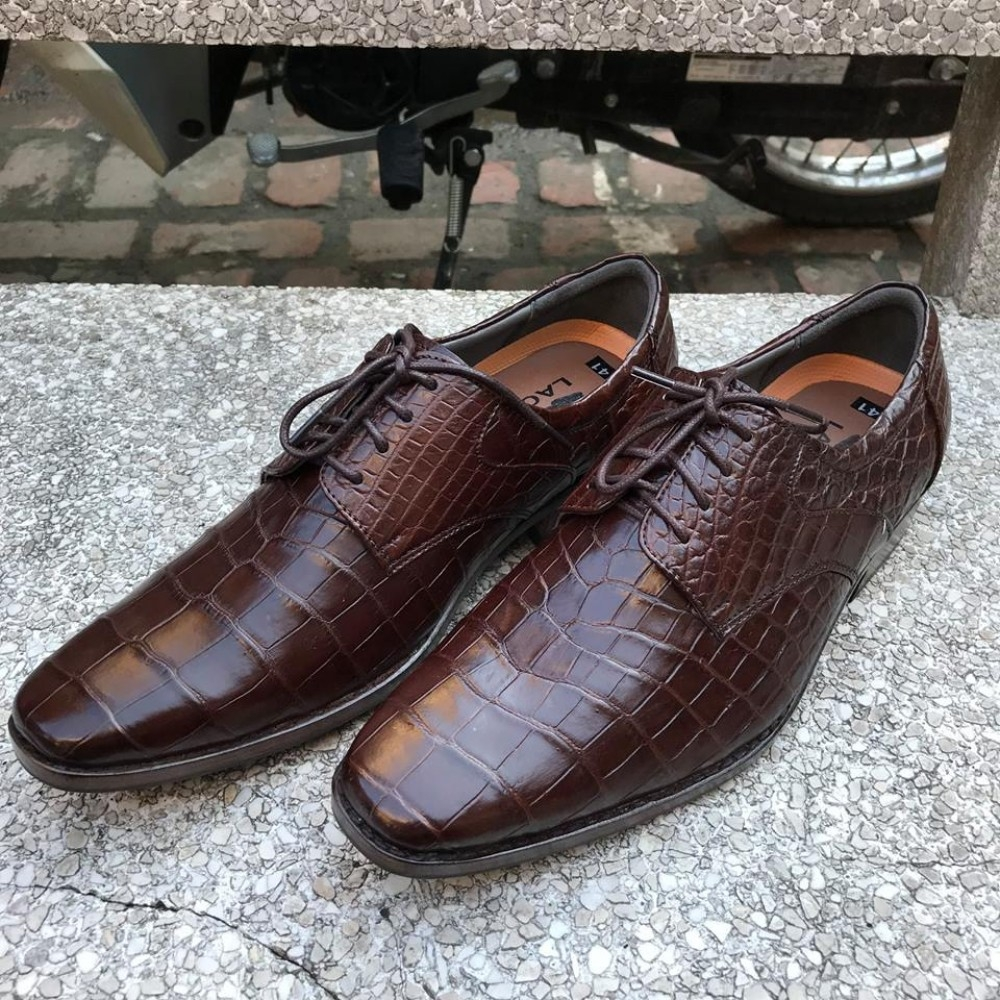 Giày nam da cá sấu GCS50