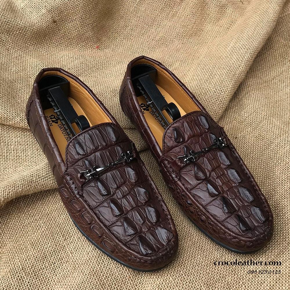 Giày da cá sấu giá rẻ GCS70