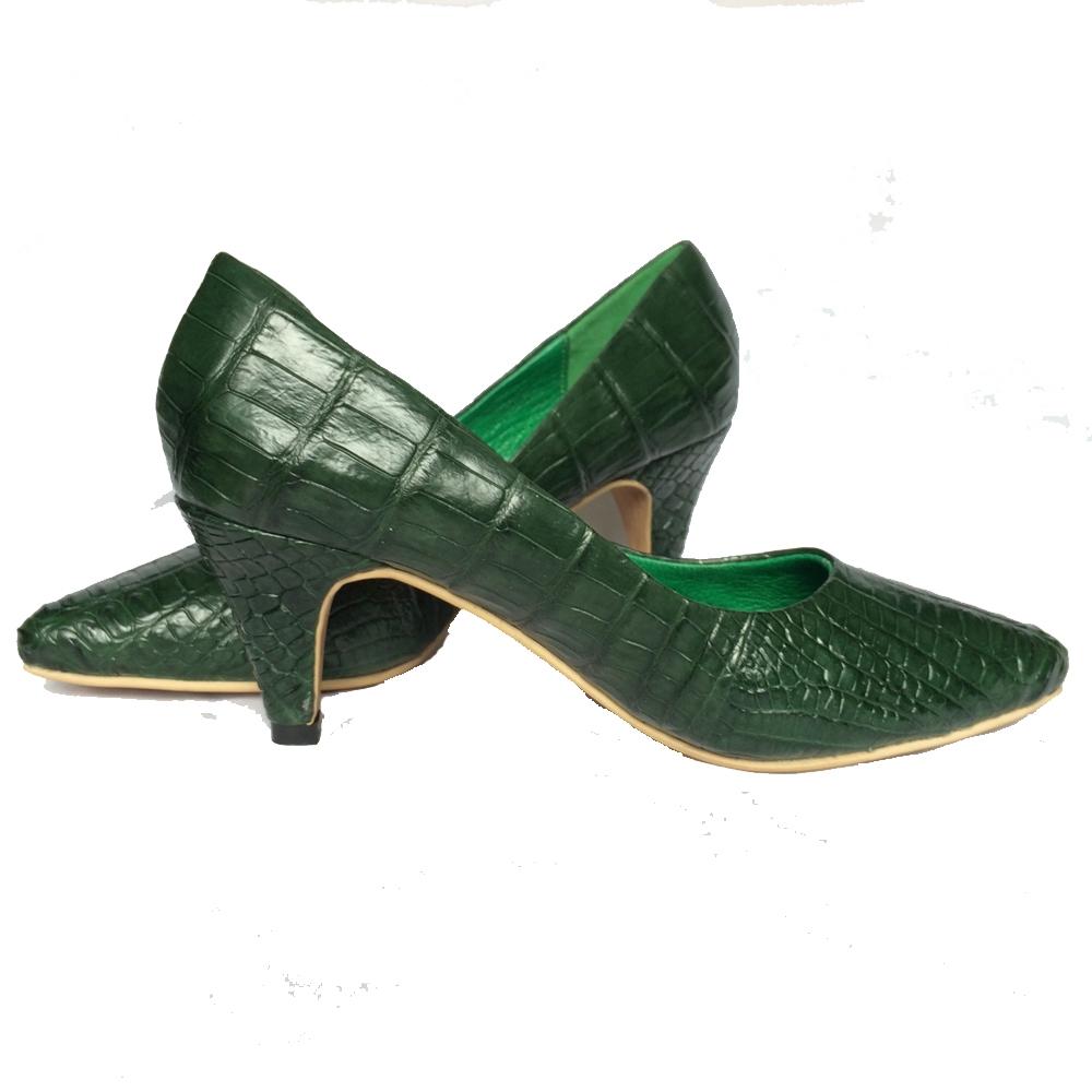 Giày da Cá Sấu GNC02