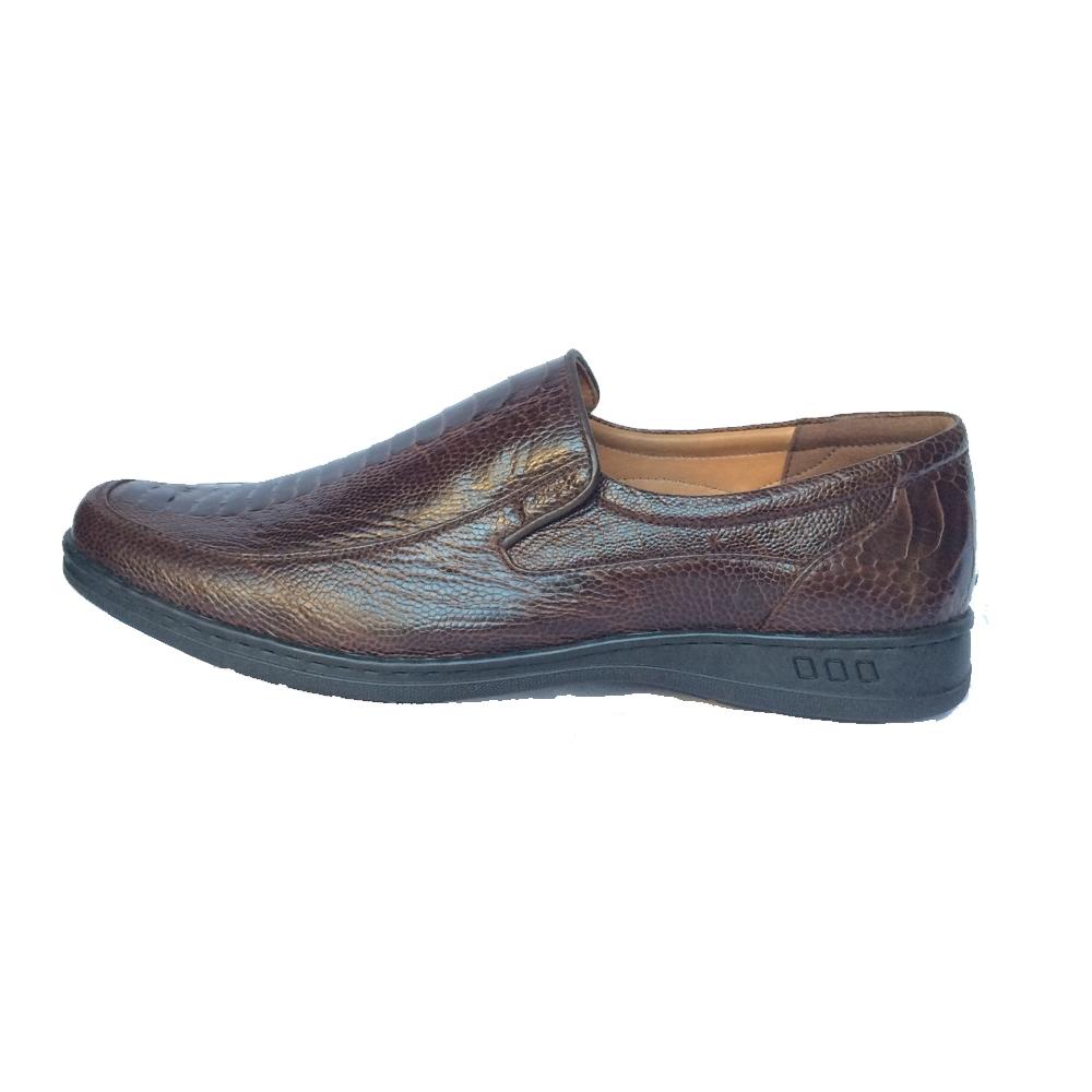 Giày nam da Đà Điểu GD07