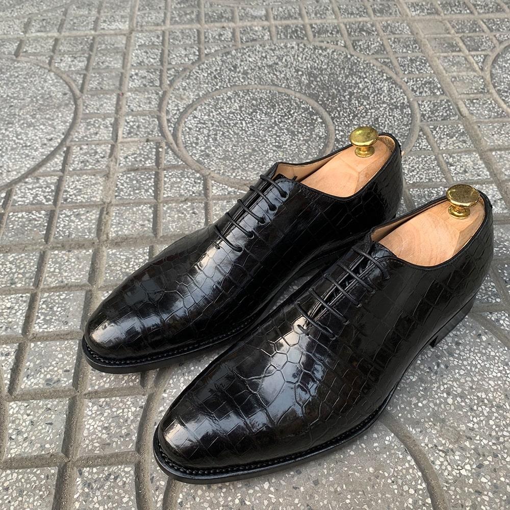 Giày da cá sấu GCS75