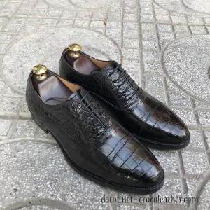 giày tây da cá sấu